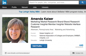 Optimize Your LinkedIn Account