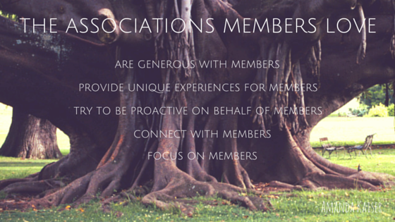 The Associations Members love