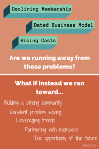 Are Most Associations Running Away or Running Toward? [Mini-infographic]