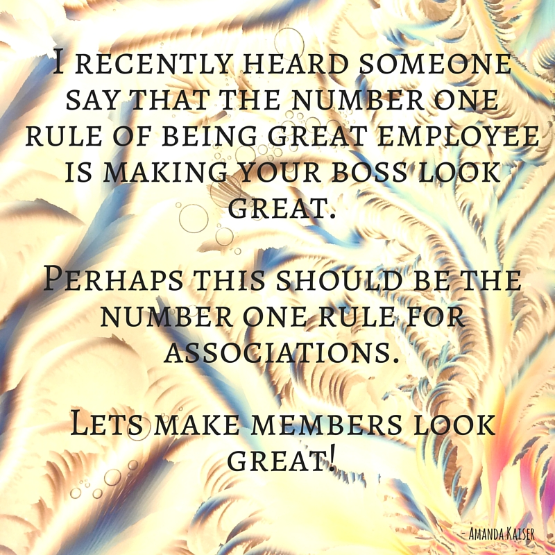 Associations should make members look great!