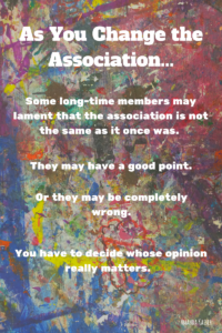 Whose Feedback Matters Most to the Future of the Association?