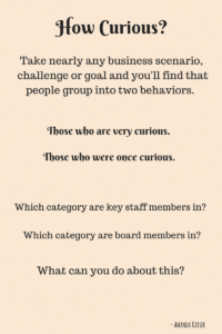 What Do We Do With Non-Curious Decision Makers At Our Associations?