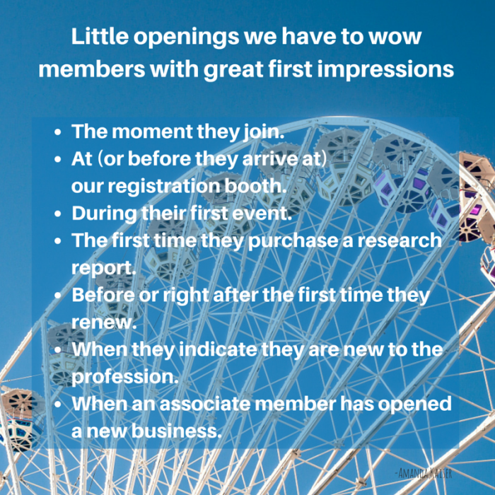 Openings to provide members great first impressions-2